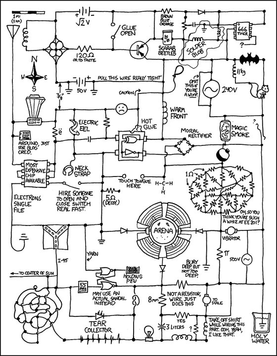 Circuit Diagram Art